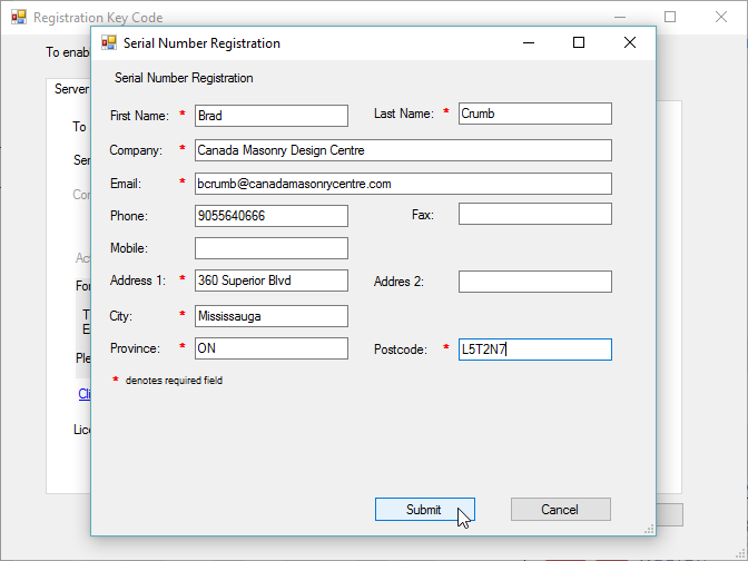 Activation article 2 online form filled