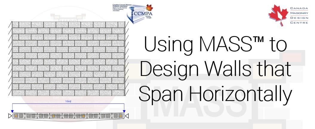 Canada Masonry Design Centre – How to use MASS to Design